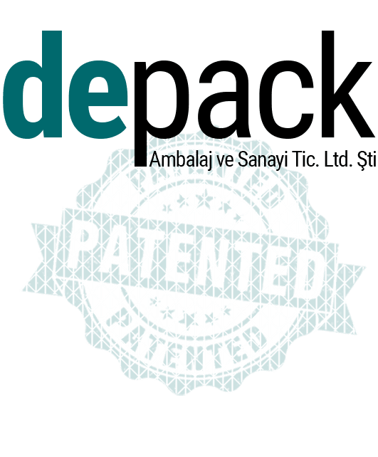 Depack Logo About Us Patented
